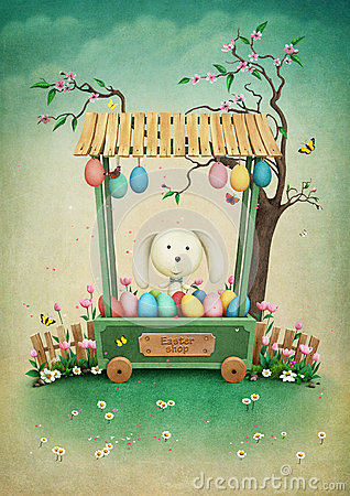 Free Easter Shop Stock Photo - 66580130