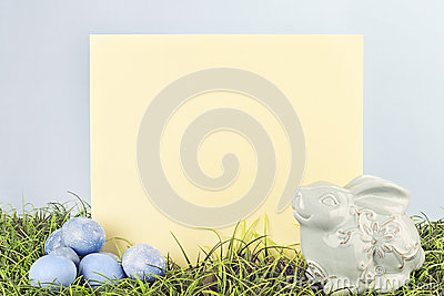 Easter Sign Stock Photo