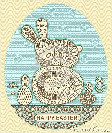 Easter sleep bunny