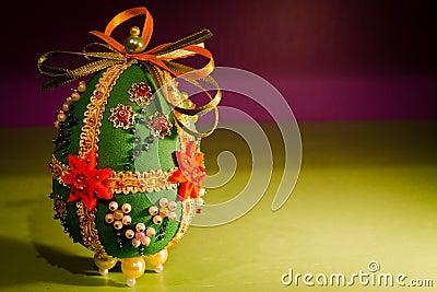 Easter sukienny jajko