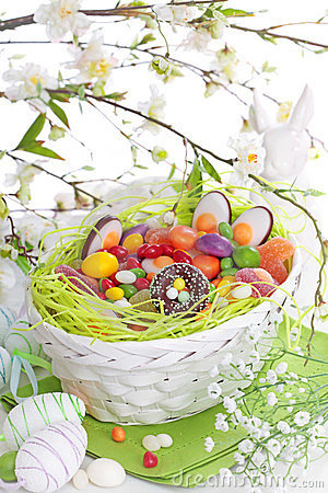 Free Easter Sweets Royalty Free Stock Photography - 23607187