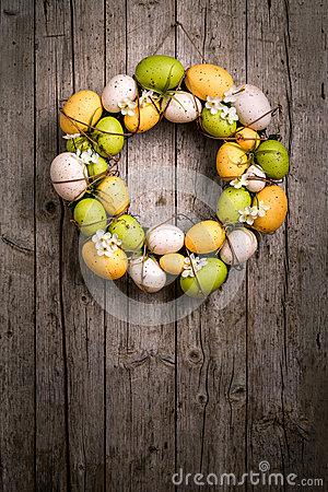 Free Easter Wreath Stock Image - 38288321