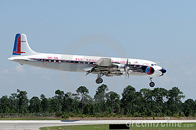 Eastern Airlines DC-7B Editorial Stock Photo