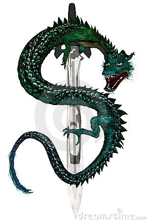 Eastern Dragon - Green
