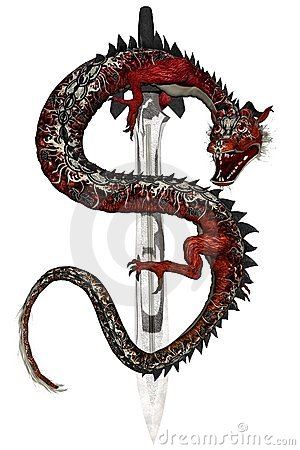 Eastern Dragon - Red