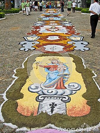 Eastern Procession Sao Joao del Rei Brazil Editorial Image