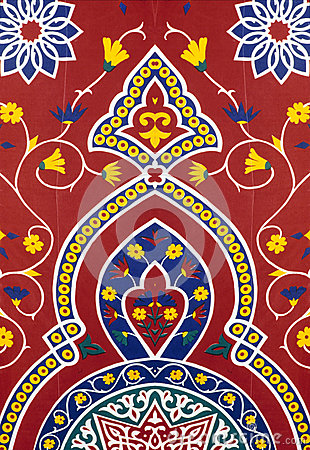 Eastern red fabric