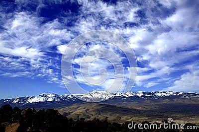Eastern Slope of the Sierra Range
