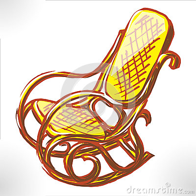 Easy chair color raster