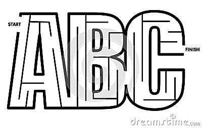 Easy To Solve ABC Maze