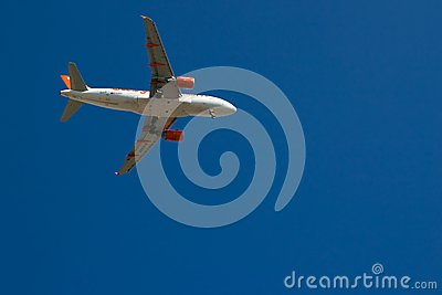 Easyjet Airbus A319-111 Editorial Stock Photo