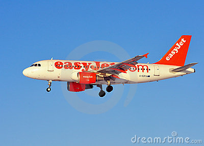 Easyjet Airbus A319 Editorial Photography
