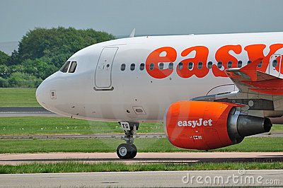Easyjet Airbus A320 Editorial Photography