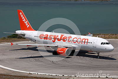 EasyJet Airbus A320 Editorial Stock Image