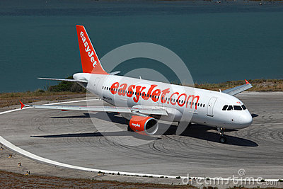 EasyJet Airbus A320 Editorial Stock Photo