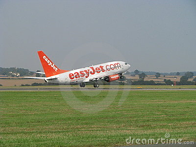 Easyjet takes off Editorial Stock Photo