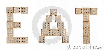 Eat biscuits