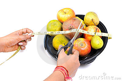 Eat fruits to cut weight