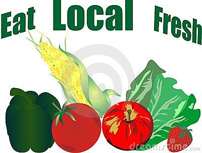 Eat local and fresh Veggie products...