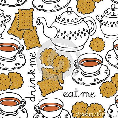 eat me drink me tea and cookies