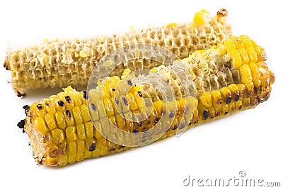 Eaten Corn