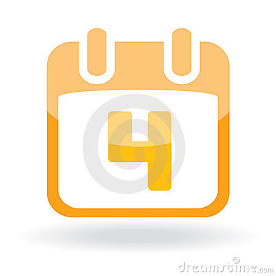 Eater icon - calendar with date