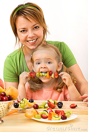 Free Eating A Healthy Snack Stock Photography - 9839872
