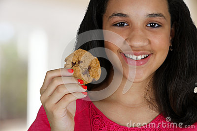 Eating Cookie