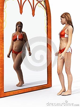 Free Eating Disorder Body Image Royalty Free Stock Photo - 16749065