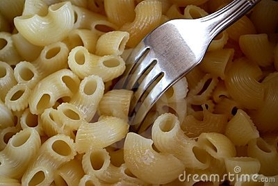 Eating The Hot Macaroni