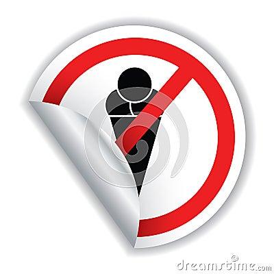 Eating icecream not allowed!