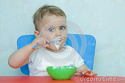 Eating by myself