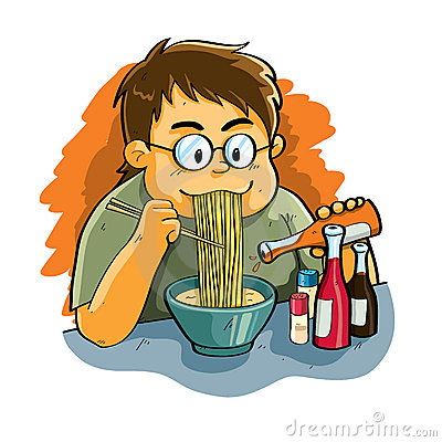 Free Eating Noodles Stock Photos - 19901523