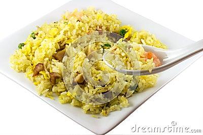 Eating Rice
