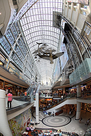 Eaton centre inside Editorial Image