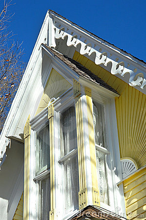 Eaves of Victorian Home