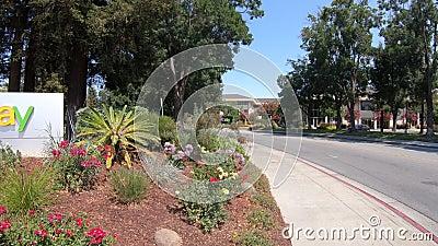 Ebay Logo California Stock Footage Video Of Sign Corporation 126051034