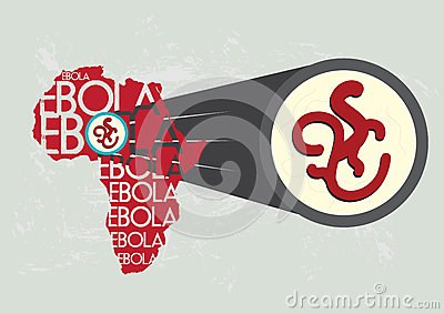 Ebola Virus in Africa Magnified Bigger