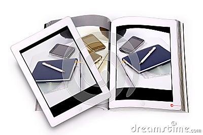 Ebook concept