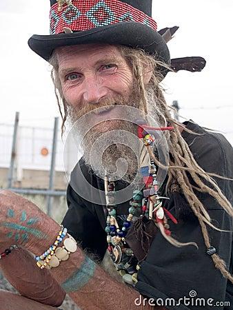 eccentric older gentleman royalty free stock photo image