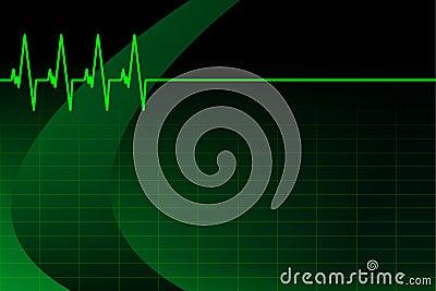 ECG/EKG background/business card