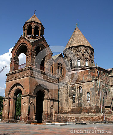 Free Echmiadzin Cathedral In Armenia Stock Images - 26168104