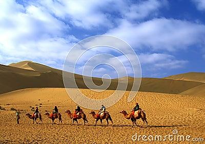 Echoing Sand Hill, Dun Huang, China