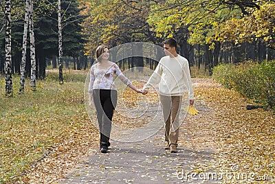 Echtgenoot & zijn zwangere vrouw