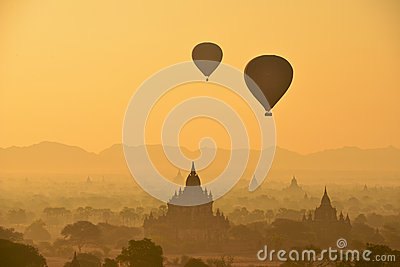 Eclipse in Bagan