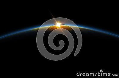 Eclipse - Lunar sunrise