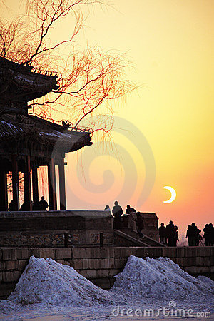 Eclipse of Summer Palace