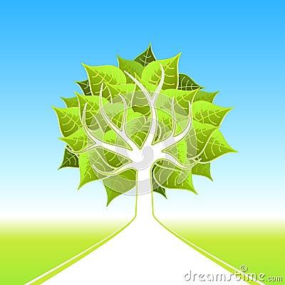 Eco big tree design