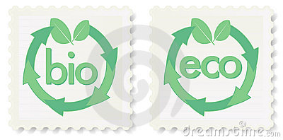 Eco and Bio Stamps