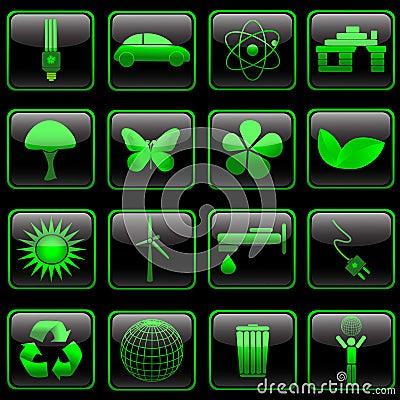 Eco button set